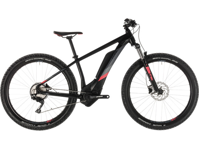 Cube Access Hybrid Pro 500 Damer, black'n'coral